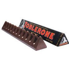 ¥8.45 TOBLERONE 瑞士三角 黑巧克力含蜂蜜及巴旦木糖 100g
