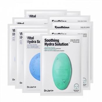 京东商城 Dr.Jart+ 水动力 活力水润面膜 25ml*5片*2盒(绿色+蓝色) 129元到手 急救补水