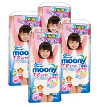 MOONY 尤妮佳 拉拉裤 男女款XL38*4包 ¥256