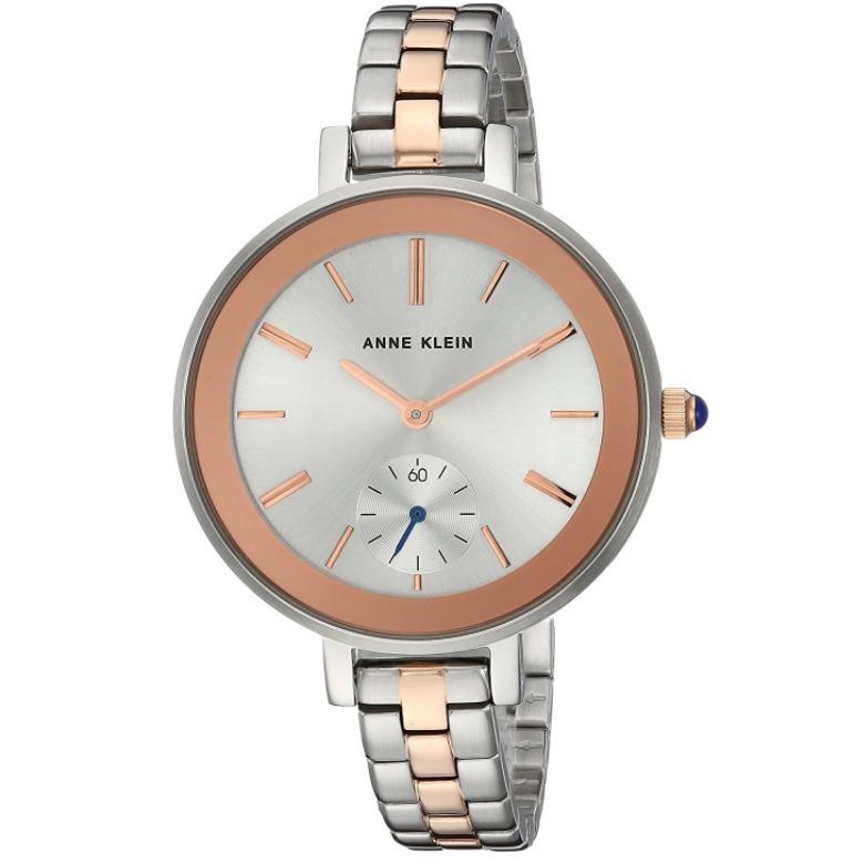 ¥260.14 Prime会员!Anne Klein 女士 AK/2991SVRT 玫瑰金色手表¥260.14