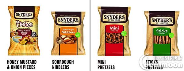 销售冠军 Snyder's of Hanover Pretzel混合装零食(36包装)