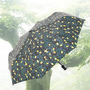 PARAKITO 帕洛奇 三折黑胶晴雨伞 柠檬树 ¥30'