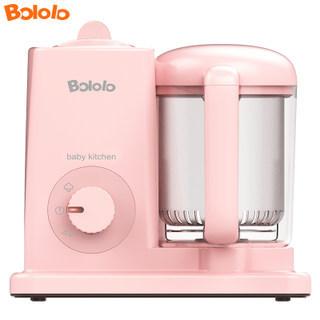 波咯咯/BOLOLO婴儿辅食机 多功能蒸煮搅拌一体机料理机 宝宝辅食研磨器  券后179元
