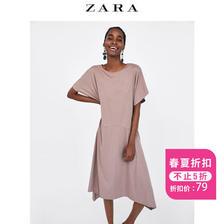 ZARA 07568029737 宽松连衣裙 79元包邮