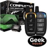 $249.99(原价$539.98) CompuStar LED 双向汽车遥控启动套装 包安装
