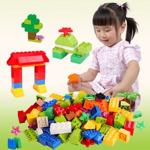 大颗粒益智积木玩具72颗 24.9元包邮 原价44.9元