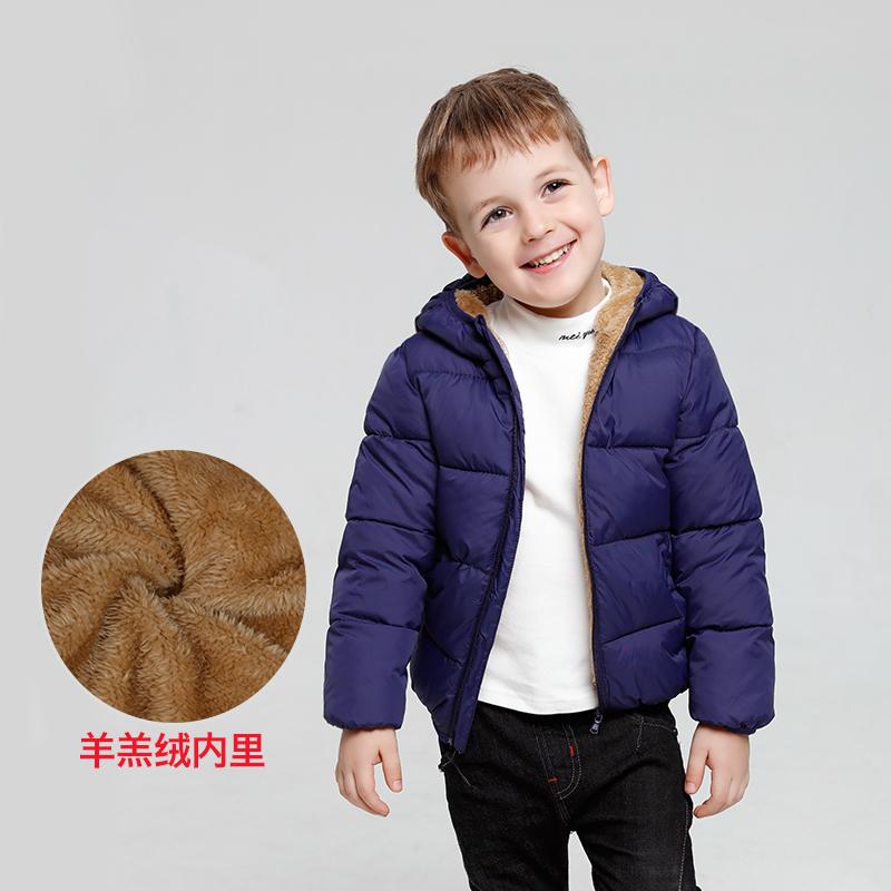 ¥59 儿童羊羔绒加厚棉衣男女童外套 59包邮