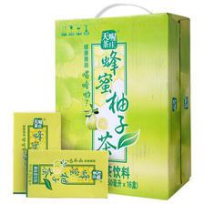 天喔茶庄 蜂蜜柚子茶 250ml *16盒 19.9元