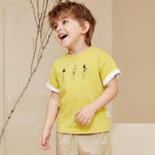 当当网商城 Mini Balabala迷你巴拉巴拉 男童短袖T恤*3件99元包邮(99元选3件)