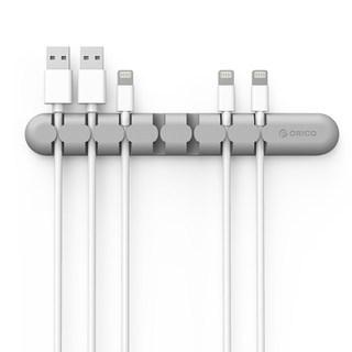 orico 数据线收纳扣充电器保护套苹果手机耳机理绕线器桌面整理器  券后8.9元