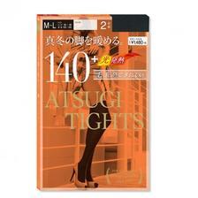 ATSUGI 厚木 TIGHTS系列 140D 发热连裤袜 中厚款 2双装2套 亚马逊海外购 6.5折 直