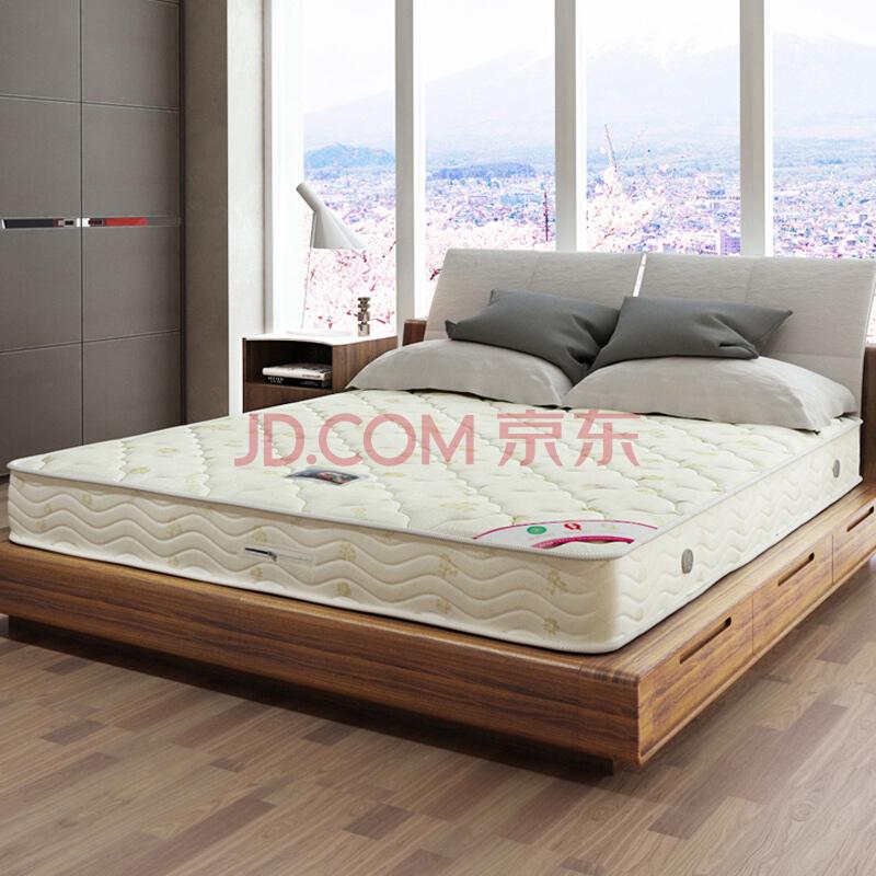 香港红苹果 席梦思床垫代椰棕床垫硬(看得到弹簧与内材)M603 1800×2000×210999元