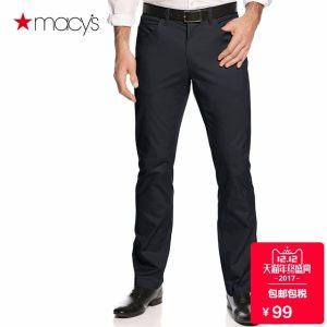 神价格 梅西百货旗下 Alfani 97%棉+3%弹力 男修身西裤 79元双十二价 包邮包税 平常199元
