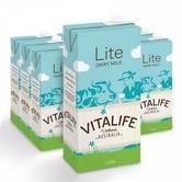 京东商城 VITALIFE 低脂UHT牛奶 1L*12盒 *3件209.26元包邮含税 可满199-50