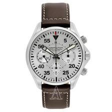 折合4893元 Hamilton 汉密尔顿 卡其航空 H64666555 男士机械腕表