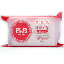 B&B 保宁 婴幼儿洗衣皂 薰衣草味 韩国版 200g/个 *10件 56.5元含税(需用券,合