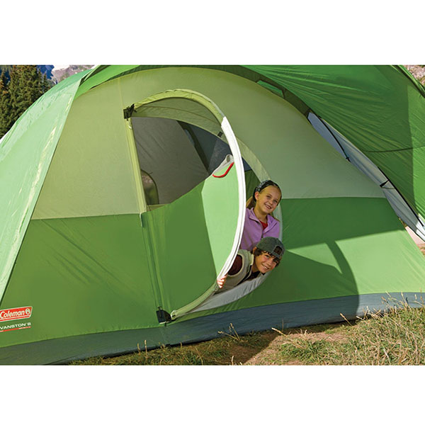 历史低价!Coleman 科勒曼 Montana 8人帐篷 WeatherTec系统 海淘 4.5折 USD.1(¥497)4.5折