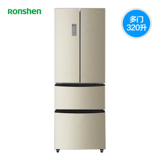 Ronshen/容声 BCD-320WD12MYP四开门电冰箱家用多门节能风冷无霜2799元