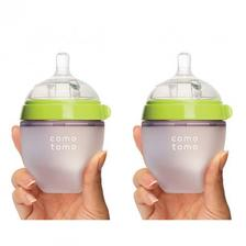 Comotomo 可么多么 硅胶软性奶瓶 150ml*2只 秒杀价¥129包邮包税