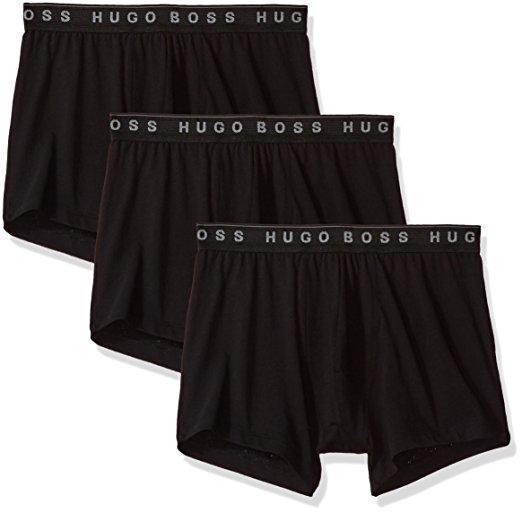 BOSS Hugo Boss 男士四角内裤三条装