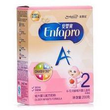 凑单品、限地区: MeadJohnson Nutrition 美赞臣 安婴宝A+ 婴儿奶粉 2段 200g 12.12元