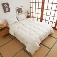 SHIKOKU /四国贩卖95白鹅绒冬被柔赛丝印花羽绒被双人 200*230 木箱包装 1316元