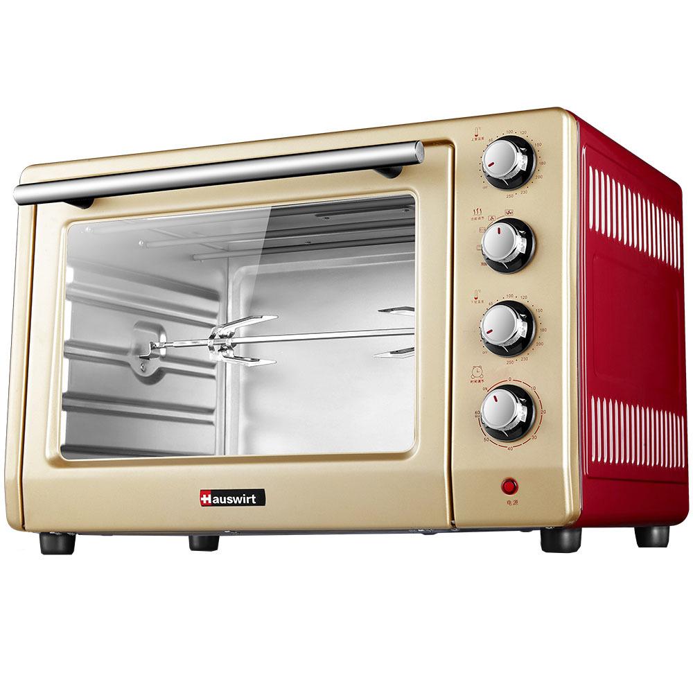 ¥354 海氏(Hauswirt) HO-405 家用 多功能大容量电烤箱 40L上下独立控温 金