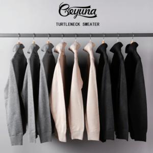 Geyuna 日本重磅加厚高领毛衣 69.9元包邮
