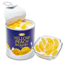 信钻 酸奶黄桃+酸奶菠萝罐头312g*6罐组合装 ¥28
