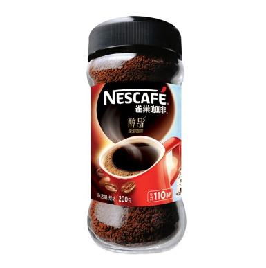¥89 Nestle雀巢 咖啡醇品速溶咖啡200g