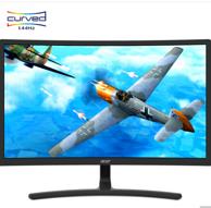 Acer 宏碁 ED242QR 23.6英寸 VA曲面显示器(1800R、144Hz)964元