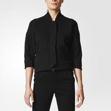 休闲有型!阿迪达斯ZNETRANSTT女子针织夹克BR1489 活动好价489元包邮含税(需