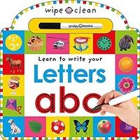 Wipe Clean Letters可擦拭练字儿童书本
