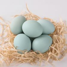 菜源农场 土鸡蛋 新鲜绿壳鸡蛋 30枚 29.8元包邮