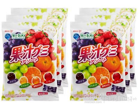 Meiji 明治 100%果汁胶原蛋白什锦软糖 90g×6袋