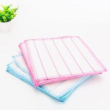 8层加密加厚不沾油洗碗布棉纱清洁巾百洁布洗碗巾吸水清洁布抹布  券后14.8