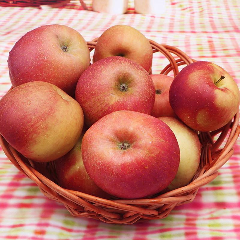 逗鲜 红富士苹果 8斤装 19.8元包