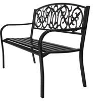 $35.97 Brush 4 ft. 户外双人金属镂空座椅