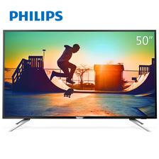 ¥2499 飞利浦(Philips)50PUF6102/T350英寸4K超高清智能LED平板液晶电视机PHILIPS