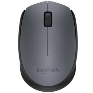 罗技(Logitech)无线鼠标M170 灰色 35元