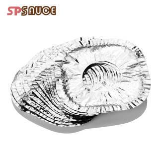 18元 SP SAUCE 煤气灶锡纸垫 防油污 银色(25枚)
