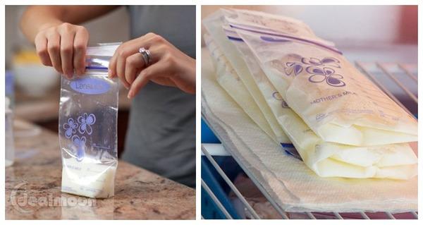 Lansinoh 母乳储存袋,100只装。