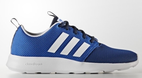 ¥170 adidas Neo 男子休闲跑鞋 cloudfoam racer
