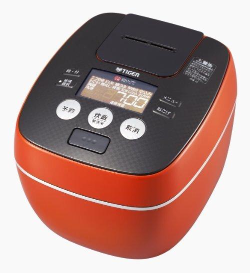 虎牌(Tiger) JPB-G102 DA 虎牌电饭煲IH加热压力电饭锅 橙色 1420.77元