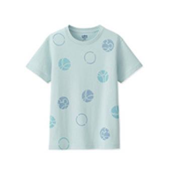¥39 童装/男童/女童(UT)DPJMICKEYBLUE印花T恤(短袖)412900