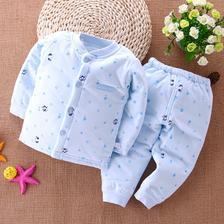 ¥29.9 婴儿保暖内衣套装纯棉夹棉