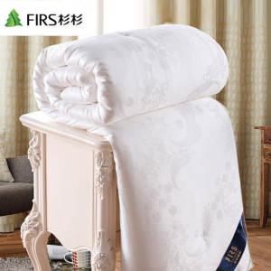 上市公司 杉杉家纺 蚕丝被 100%桑蚕丝空调被 包邮 平常219元99元