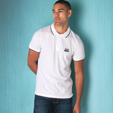 凑单好物 UCLA 男士纯棉短袖POLO衫 £7.76 约69元 可用码满£59-£6 可凑单直邮