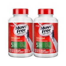 维骨力 Move Free 氨基葡萄糖软骨素 绿盒120粒*2瓶 关节疼首选 ¥285
