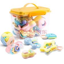¥35.67 贝恩施(beiens)婴儿摇铃牙胶手摇铃宝宝新生婴儿玩具0-3-6-12个月幼儿0-1